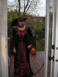 Me as Halloween a fews years ago by Killuanatsume