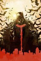 Batman Cover Color V1 by thisismyboomstick
