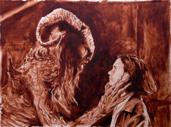 pan's labyrinth underpaint by thisismyboomstick