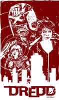 Dredd poster by thisismyboomstick