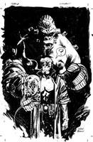 HellBoy Commission by thisismyboomstick