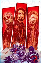Sons of Anarchy 4 colors by thisismyboomstick