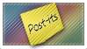 Post-it Stamp by DaMoni