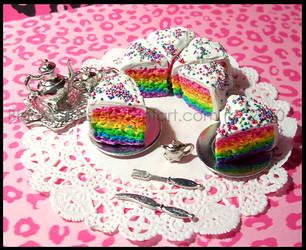 .x.Rainbow.Vanilla.Cake.x. by BloodCross