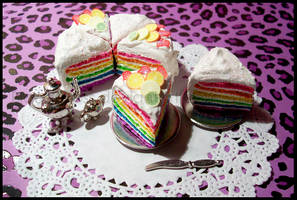.x.Rainbow.Vanilla.Cake.II.x. by BloodCross