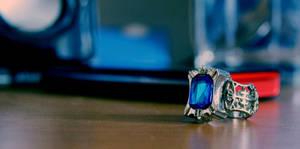 Ciel Phantomhive's ring by Lilia92x