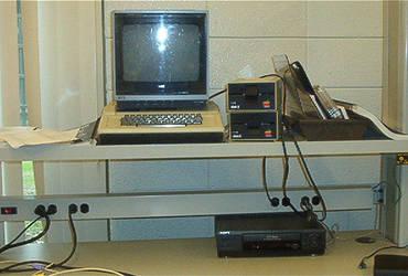 Apple II Computer by wyrickj
