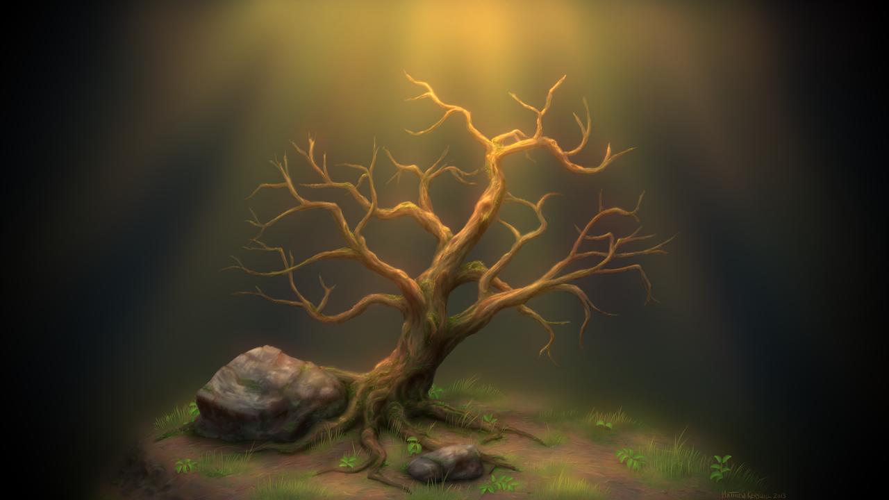 Lonely Tree by WildCat-ZA