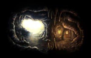 Cave Entrance by WildCat-ZA