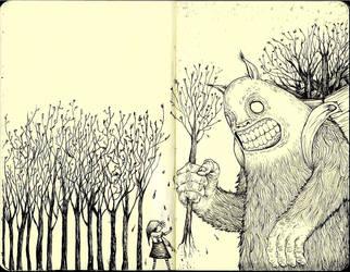 The Tree thief by SIMgund