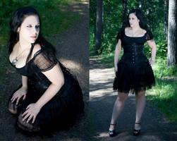 gothic beauty by WilykitThundera
