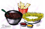 30 Day Drawing Challenge - 3# Favorite Food by Dianah3