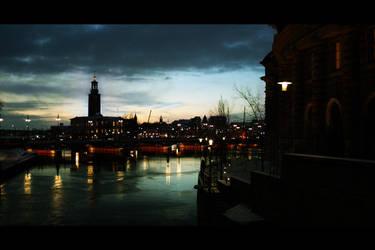Stockholm City by keowyn
