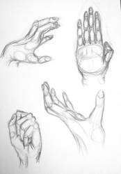 Hand Sketches by Seokthih