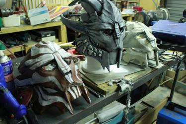 My Turian masks! by 1HLJ6