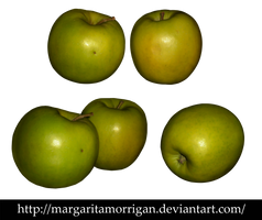 Green Apple by margarita-morrigan