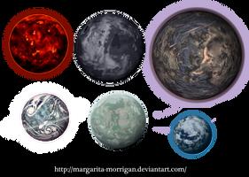 Planets by margarita-morrigan