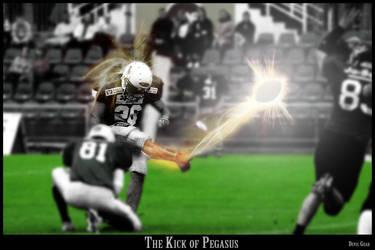 Kick of Pegasus by h2krouge