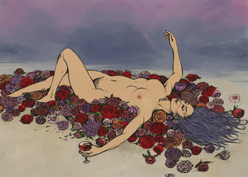 Bed of Flowers by Hinaoki
