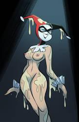 Harley Quinn's Pie by Hernyart