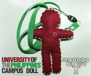 UP campus doll by moodooology