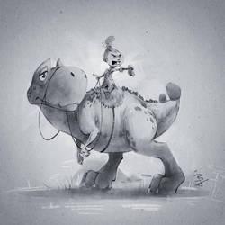 Pet Dino by BaukjeSpirit