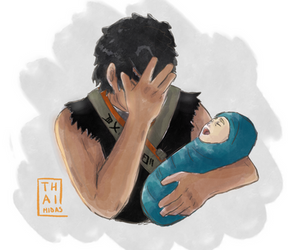 Cole Being A Stepfather by Thaimidas