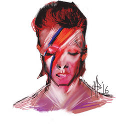 David Bowie by Neilbrady
