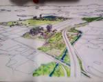 Urban Sketch by EvertonSDuarte