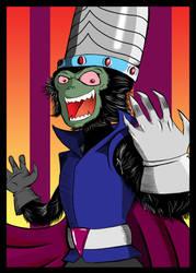 Art Jam - Day 7 - Mojo Jojo by KingPuddinArt