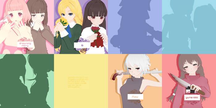 PRE-DL: RPG HORROR GIRLS PACK [Day 4] by Jjinomu
