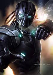 Cyber Smoke - Mortal Kombat by yoshiyaki