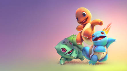 Basic Pokemons: Colors by yoshiyaki