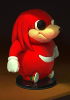 Plush Da Wae Knuckles by yoshiyaki