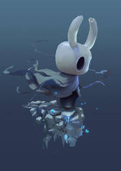Hollow Knight by yoshiyaki