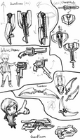 Transforming Weapon Study by Flashkirby-99