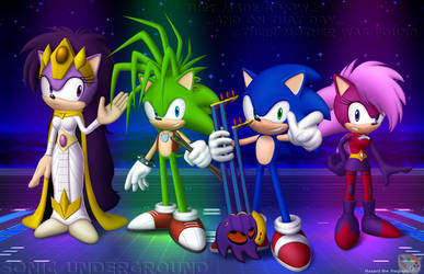 The Hedgehogs of the Underground by Hazard-the-Porgoyle