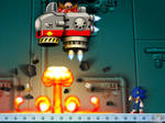 Facing the Earthbound Bombs of the Skyward Angel by Hazard-the-Porgoyle