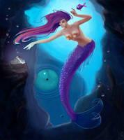 Mermaid's Pearls by MichellePapadopoulos