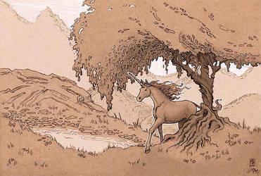 Unicorn Stroll by MichellePapadopoulos