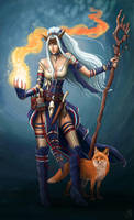 Feiya - Pathfinder Icon Character example by MichellePapadopoulos