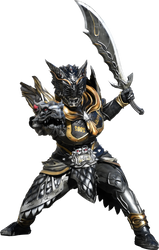 Kamen Rider Zi-O Another Ryuga render by Zer0stylinx