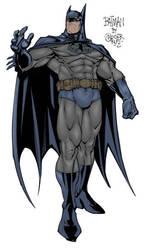 Batman Colored by saiyangoth