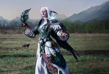 Night elf Druid cosplay by Takeshiextravaganza