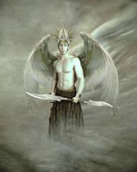 archangel uriel - angel of repentance by enkrat