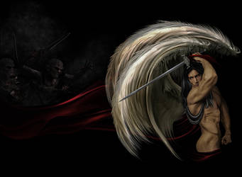 archangel raphael - healer of infliction by enkrat