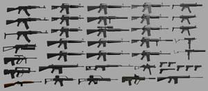 guns guns guns by shakken