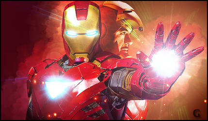 The Iron Man by amelbg