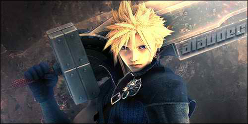 ff7 advent children cloud G by amelbg