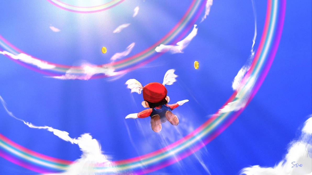 Mario 64 by stevietat